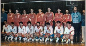 تیم ملی والیبال ایران در سال ۱۳۶۶